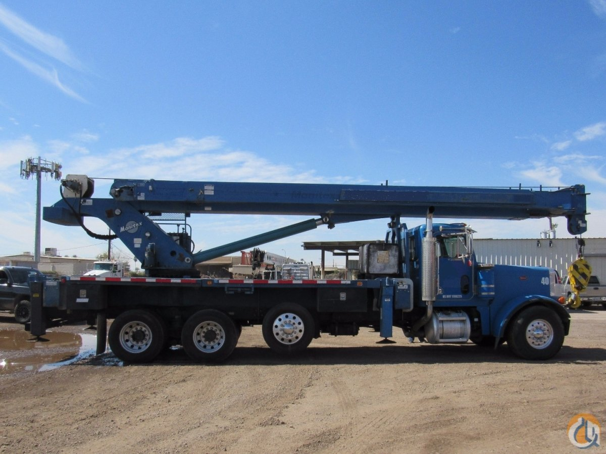 2000 Manitex-Peterbilt Crane for Sale on CraneNetwork.com