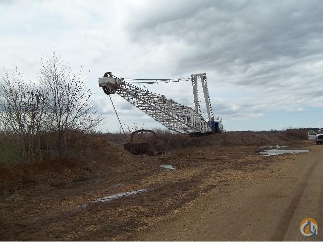 Sold 1983 Manitowoc 4600 Vicon Crawler Dragline Crane For