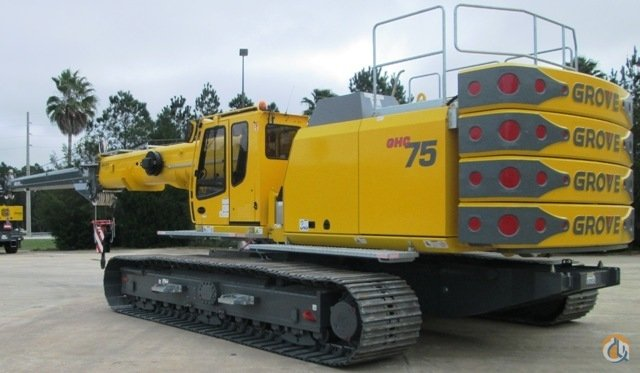2015 GROVE GHC75 Crane for Sale in Riverview Florida on CraneNetwork.com