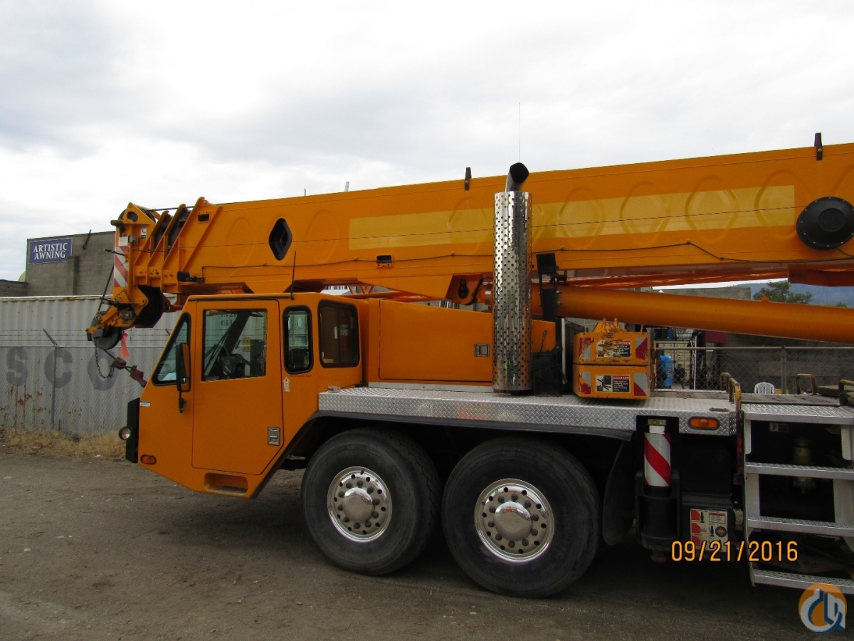 Sold 2007 LINK BELT HTC 8675 Crane for  on CraneNetwork.com
