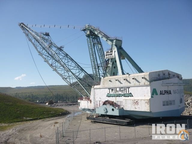 Sold Marion 8050 Walking Dragline Crane for  in Twilight West Virginia on CraneNetwork.com