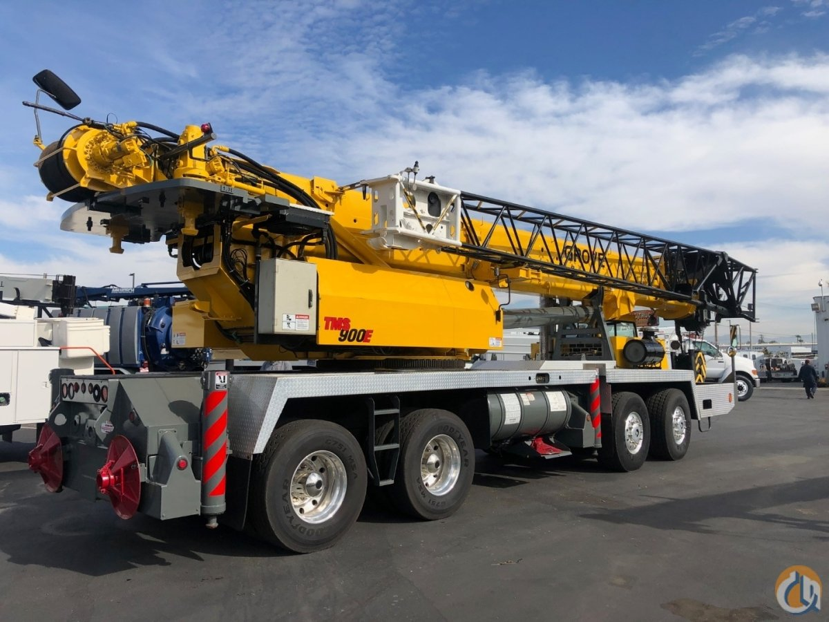 2006 Grove TMS900E 90 Ton Crane Crane for Sale in Fontana California on CraneNetwork.com