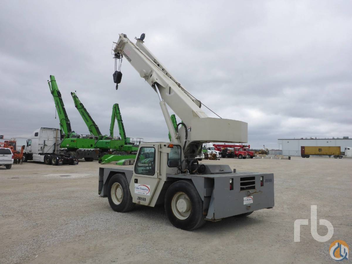 Sold 1997 SHUTTLELIFT 5540 15 Ton 4x4x4 Carry Deck Crane Crane for  in Chicago Illinois on CraneNetworkcom