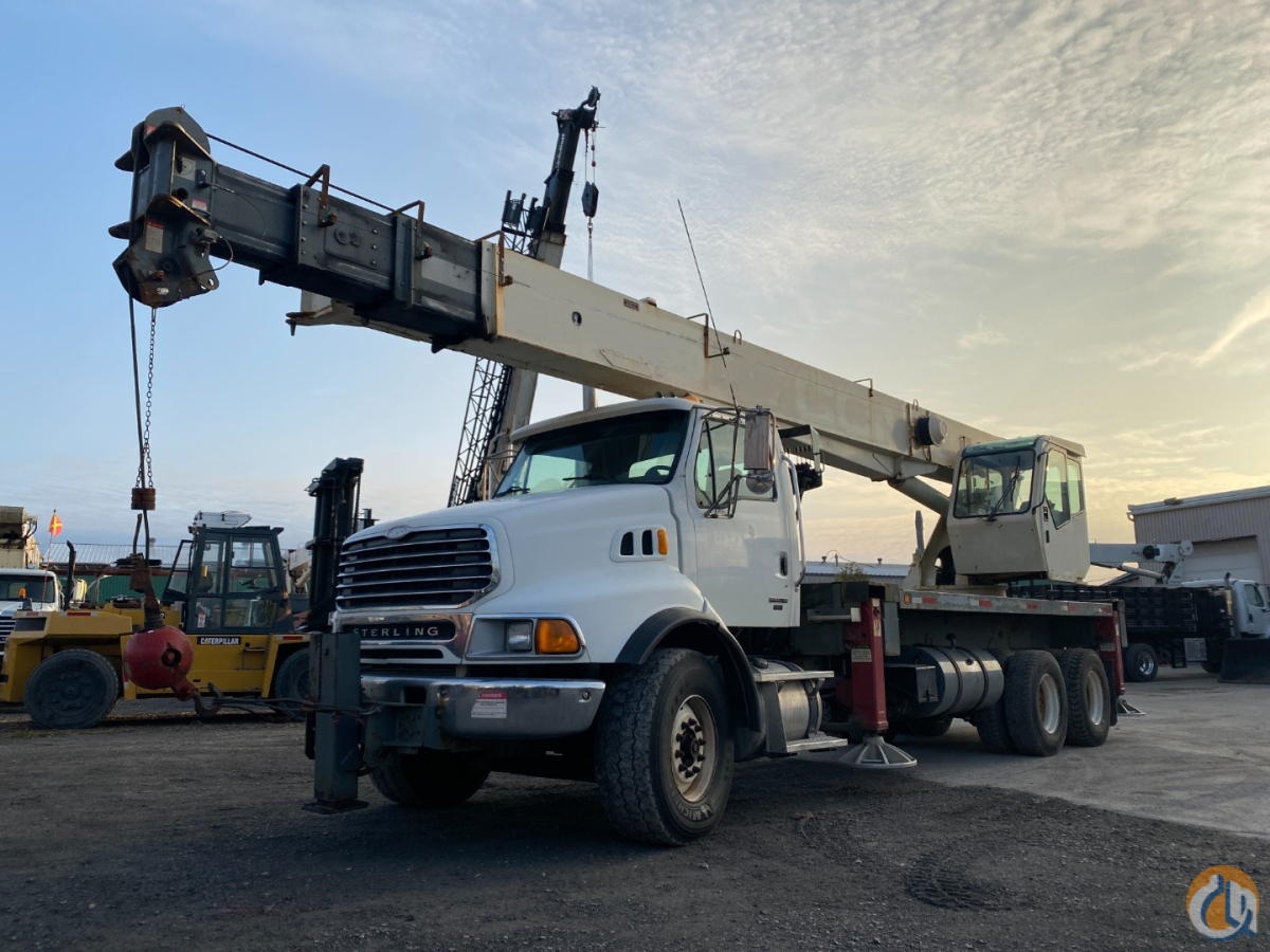 2005 Terex RS60100 swing cab on Sterling Crane for Sale in Montreal Quebec on CraneNetwork.com