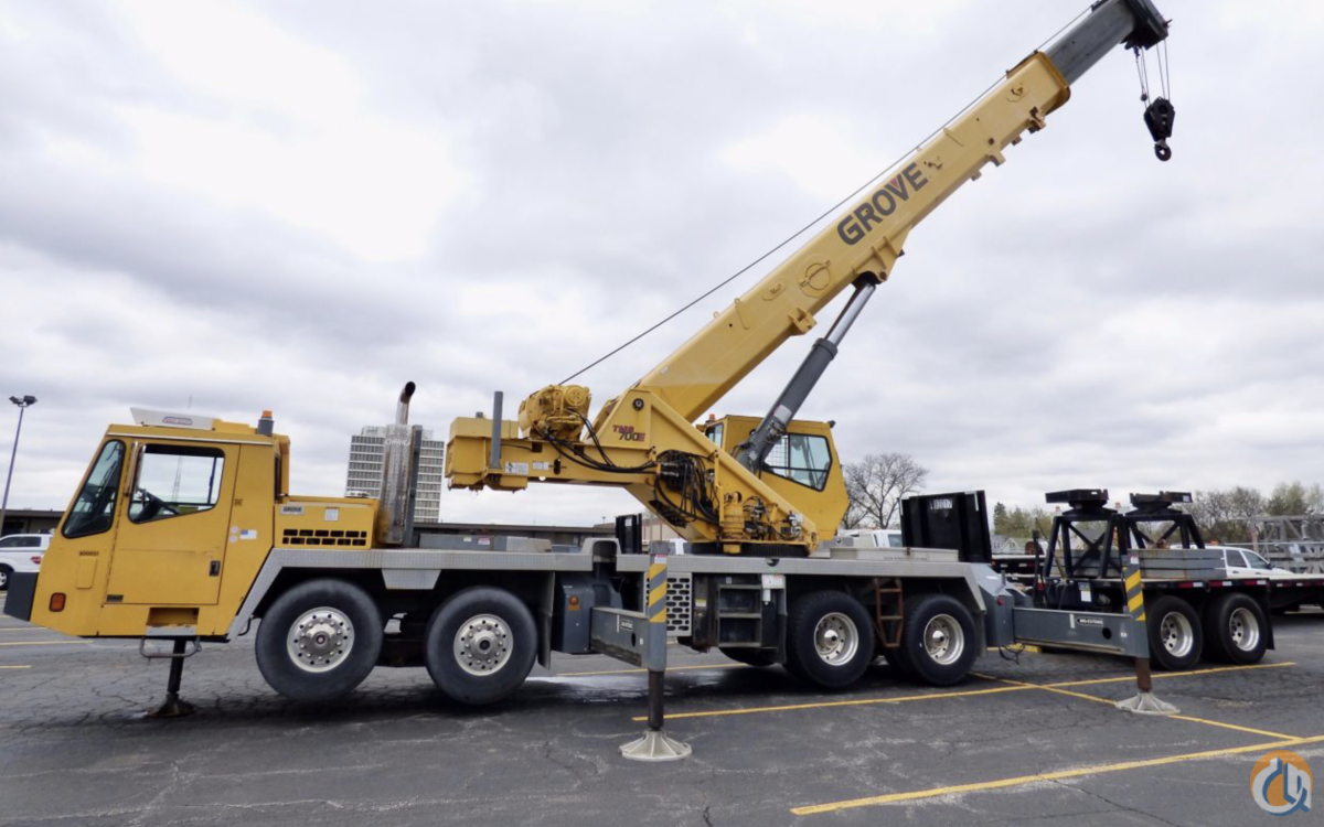 Sold 2004 Grove TMS700E Crane for  in Wellman Iowa on CraneNetwork.com