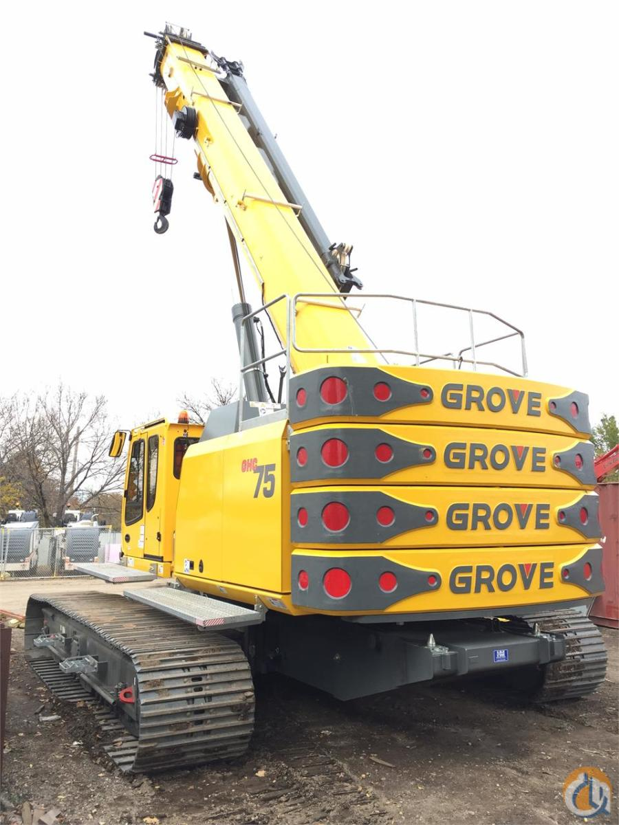 2016 GROVE GHC75 Crane for Sale in Bloomington Minnesota on CraneNetwork.com