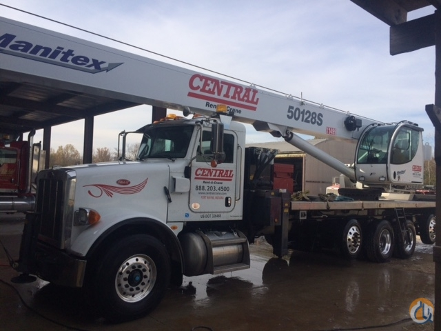 2014 MANITEX 50128S Crane for Sale in Fort Wayne Indiana on CraneNetworkcom