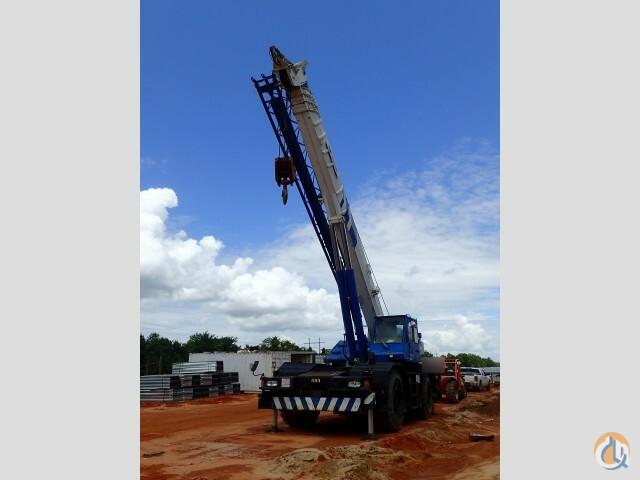 Sold 1996 Tadano Tr 450xl 45 Ton Rough Terrain Crane Crane