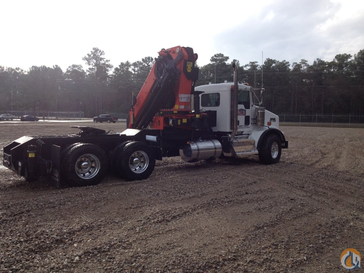 Palfinger PK 74002 E Performance knuckle boom mounted to 2015 Kenworth T800 chassis Crane for Sale or Rent in Branchburg New Jersey on CraneNetworkcom