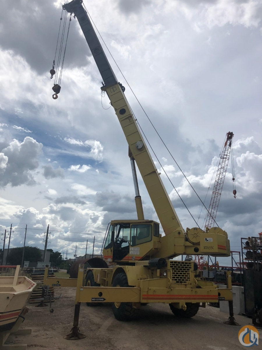 Sold 1997 GROVE RT635C Crane for  in Houston Texas on CraneNetwork.com