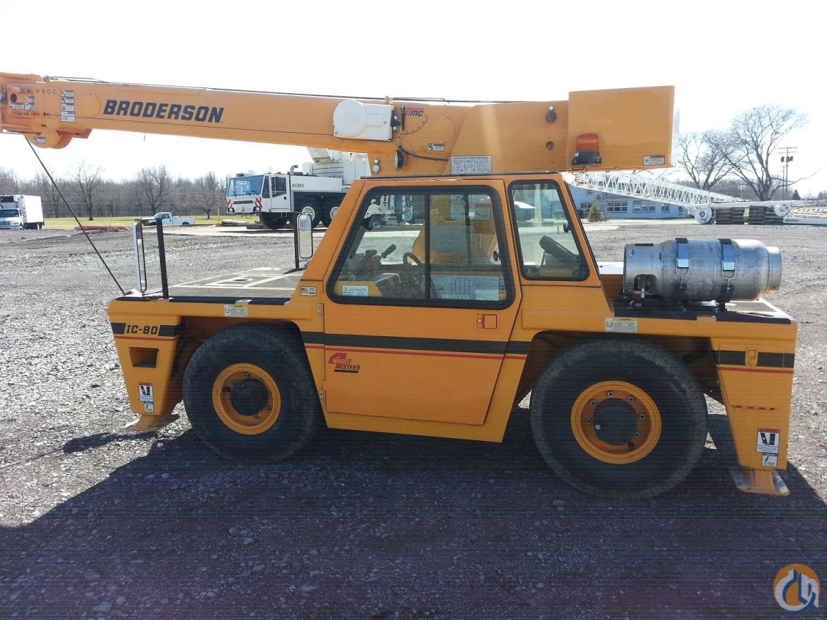 2013 BRODERSON IC80-3J Crane for Sale or Rent in Chittenango New York on CraneNetwork.com