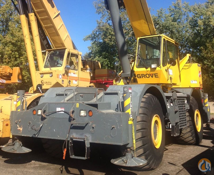 2008 Grove Rt880e For Sale Crane For Sale In Cleveland