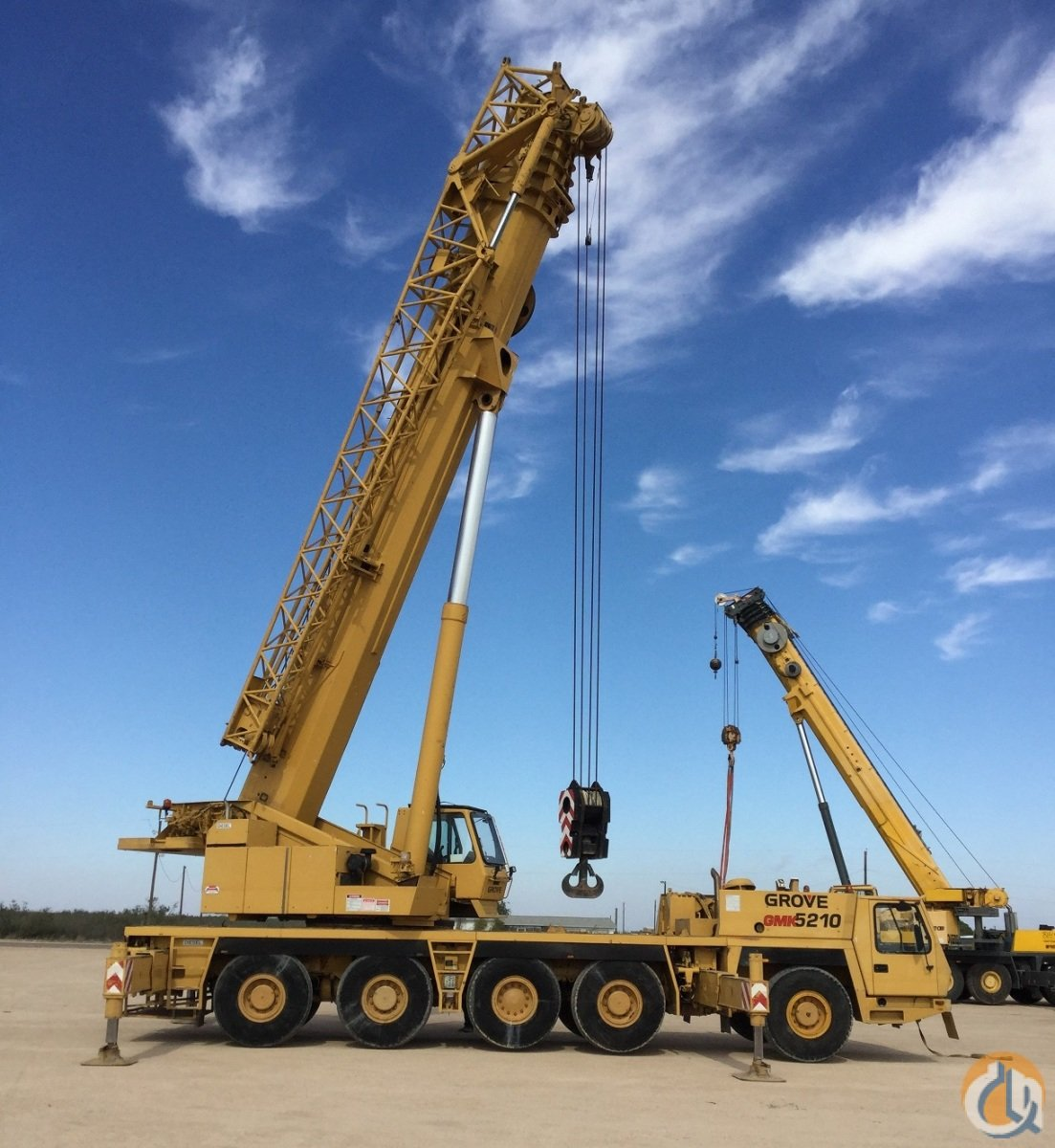 Sold 2000 GROVE GMK5210 Crane for  in Stanton Texas on CraneNetworkcom