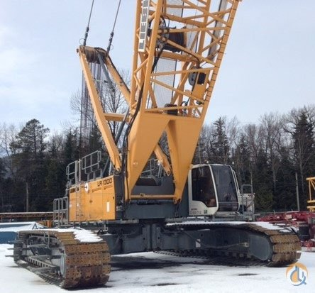 2012 LIEBHERR LR 1300SX 330 TON  243 MAIN  252 LUFFER Crane for Sale on CraneNetworkcom