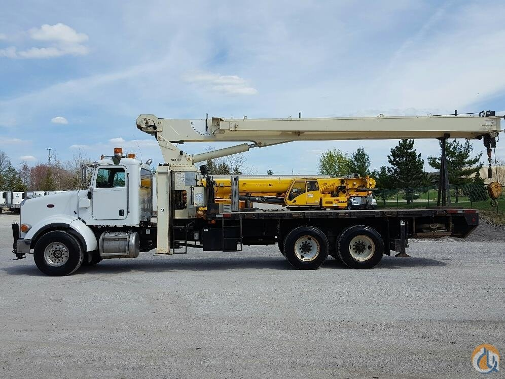 2007 Peterbilt 378with National 800D Crane for Sale in Solon Ohio on CraneNetwork.com