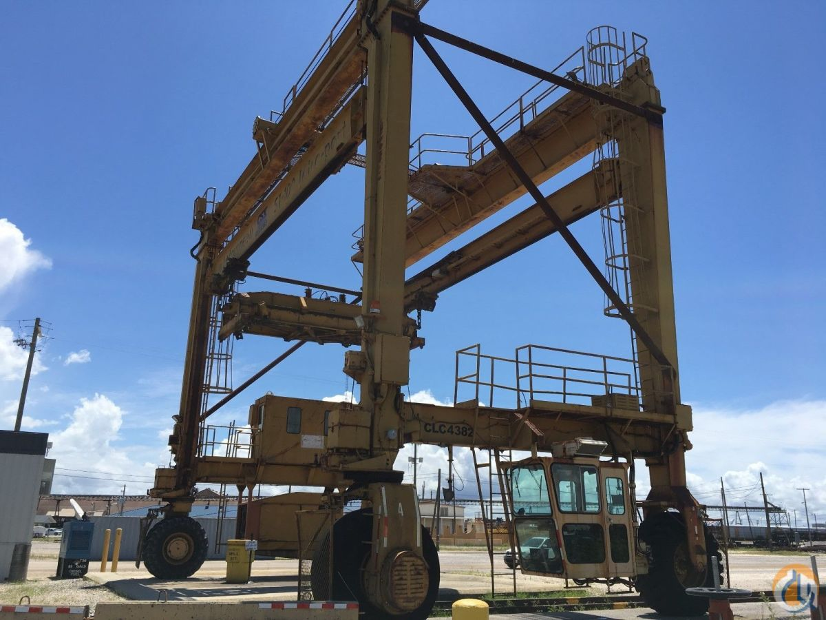 Marathon LeTourneau ST-100 Intermodal Crane Crane for Sale in Mobile Alabama on CraneNetworkcom