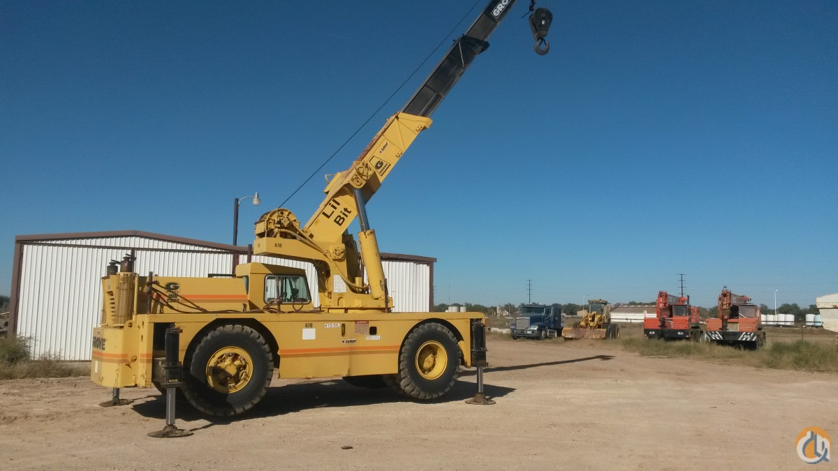 Grove 2535 Carry Deck Crane Crane for Sale in Plainview Texas on CraneNetworkcom