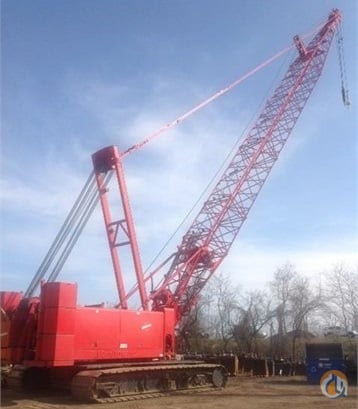 2002 Manitowoc 555 Crane for Sale in Piscataway Township New Jersey on CraneNetworkcom