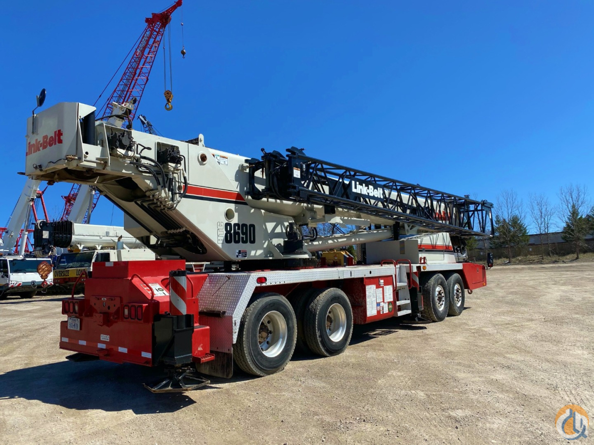 2006 Linkbelt HTC8690 Crane for Sale in Solon Ohio on CraneNetwork.com
