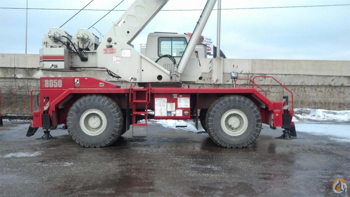 2008 LINK-BELT RTC-8050 II Crane for Sale in Houston Texas on CraneNetwork.com