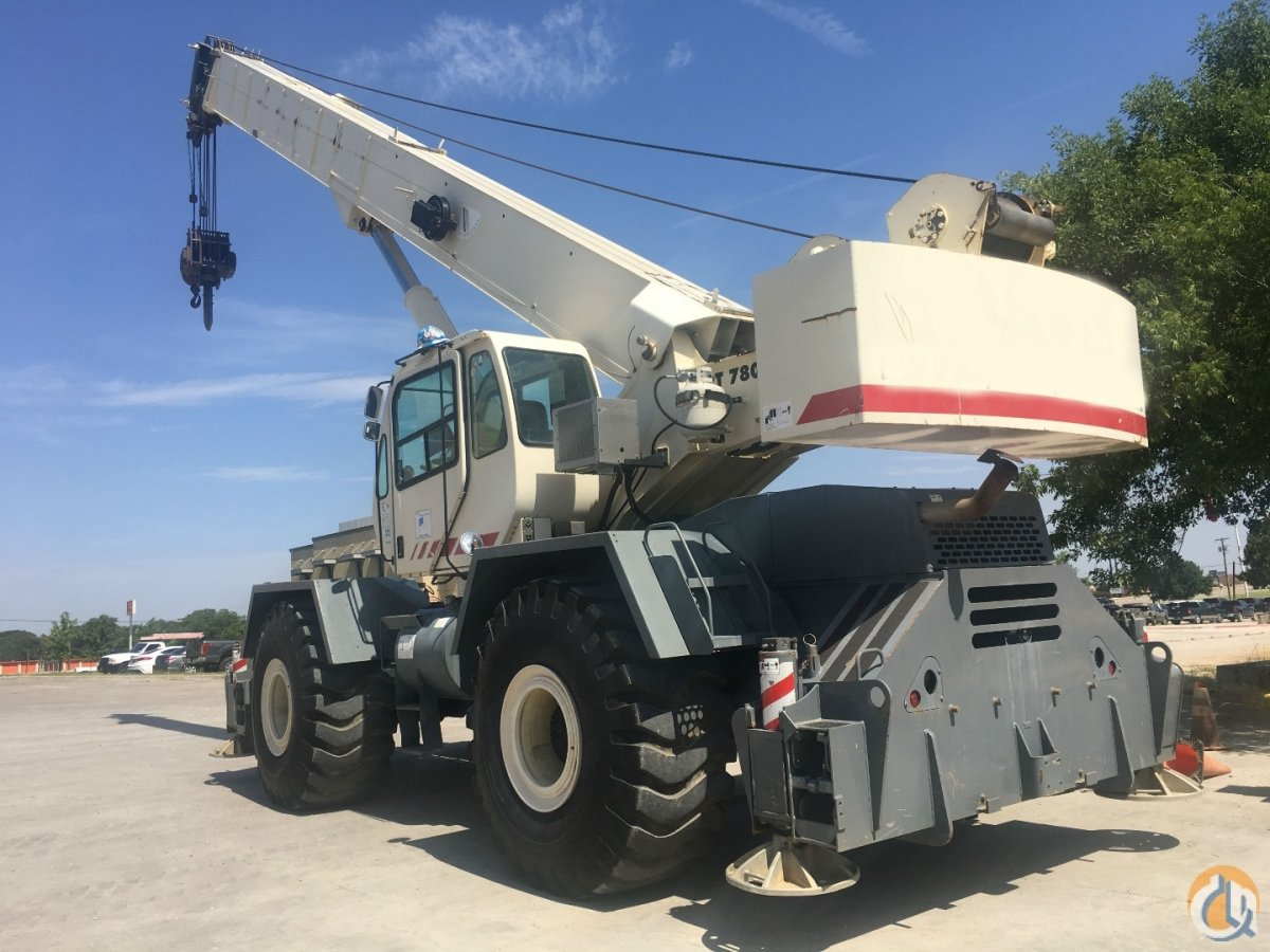 2008 TEREX RT780 ROUGH TERRAIN CRANE Crane for Sale in Dallas Texas on CraneNetwork.com