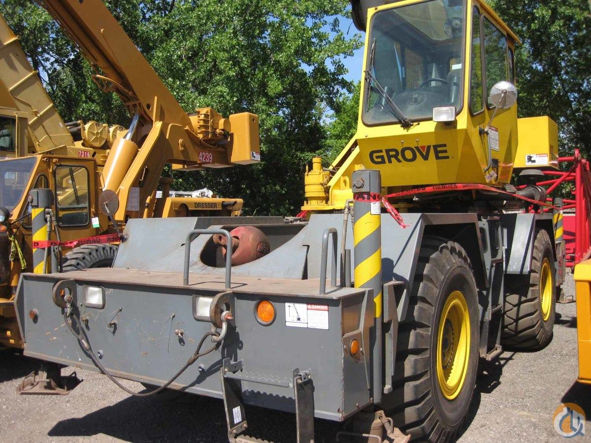 Grove RT530E For Sale Crane for Sale in Hammond Indiana on CraneNetworkcom