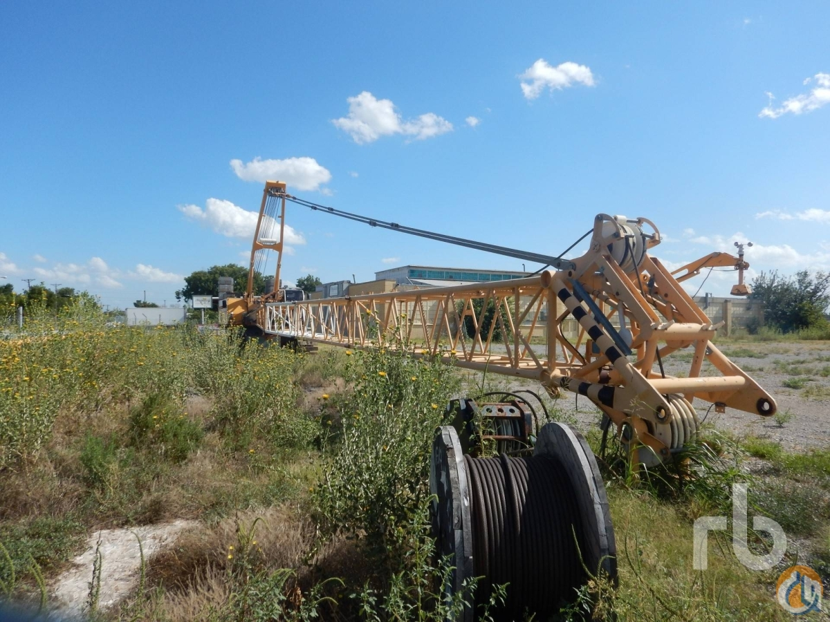 Sold 2003 LIEBHERR LR1100 Litronic 100 Ton Self-Erecting Crawler Crane Crane for  in Denver Colorado on CraneNetworkcom