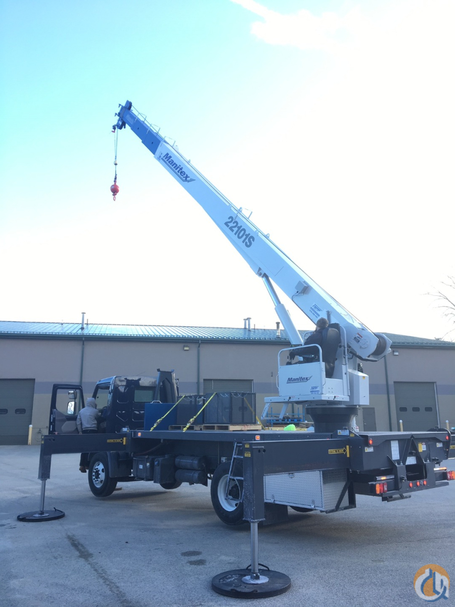 2016 Manitex 22101S Crane for Sale in Holbrook Massachusetts on CraneNetwork.com