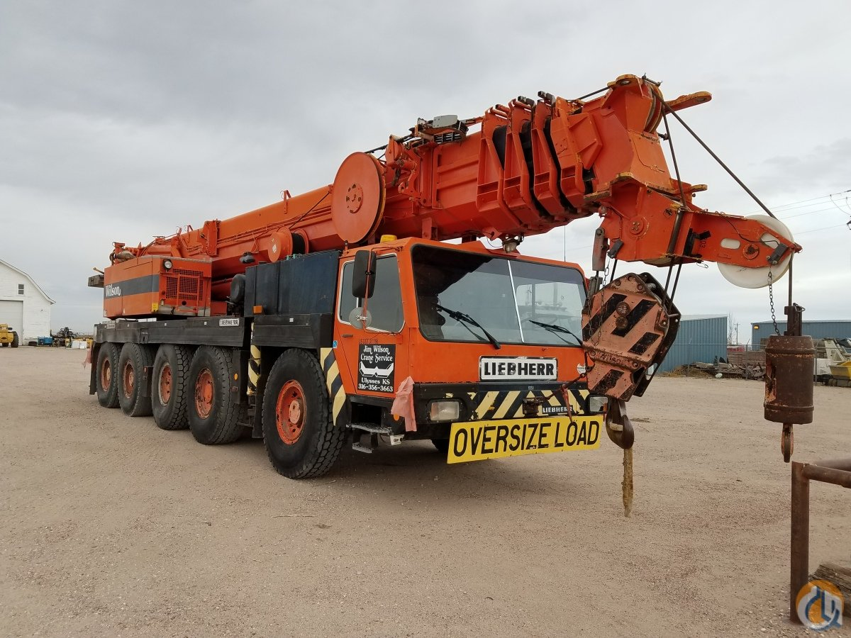 1993 LIEBHERR LTM 1120 Crane for Sale in Ulysses Kansas on CraneNetworkcom