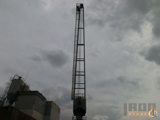 Sold Mohr Double Boom Dockside Crane Crane for  on CraneNetworkcom