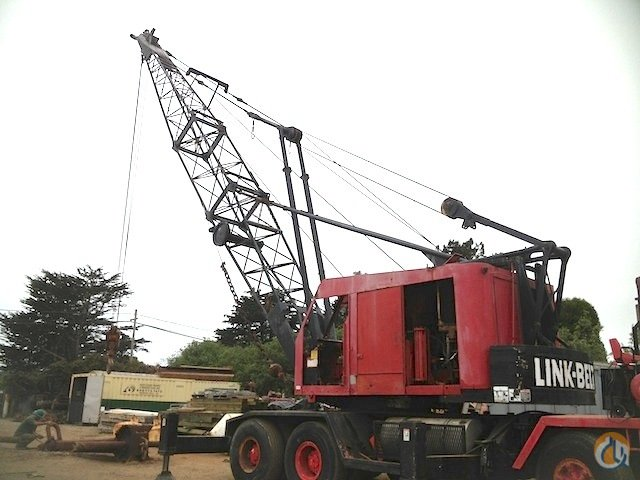 1966 Link-Belt HC108B Crane for Sale in Long Beach California on CraneNetwork.com