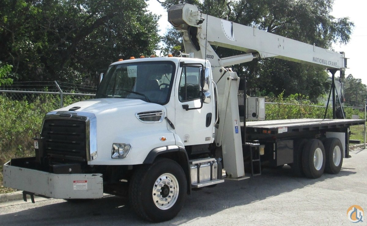 2012 National 800D on a 2013 Freightliner 114SD Crane for Sale in Tampa Florida on CraneNetwork.com