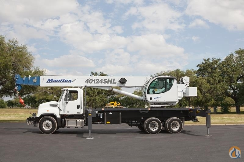 2019 MANITEX 40124SHL Crane for Sale in Houston Texas on CraneNetwork.com