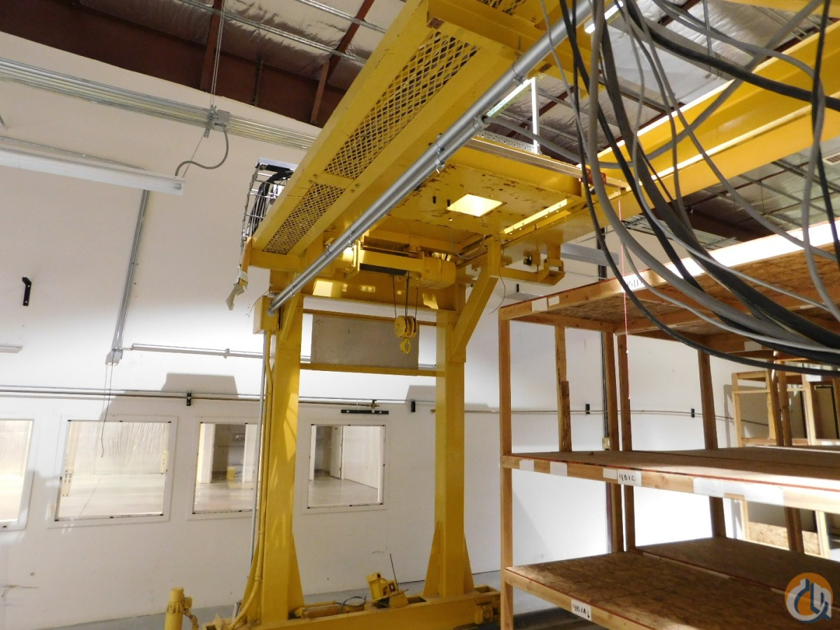 199293 ACECO Double Leg Gantry Crane Crane for Sale in Idaho Falls Idaho on CraneNetwork.com