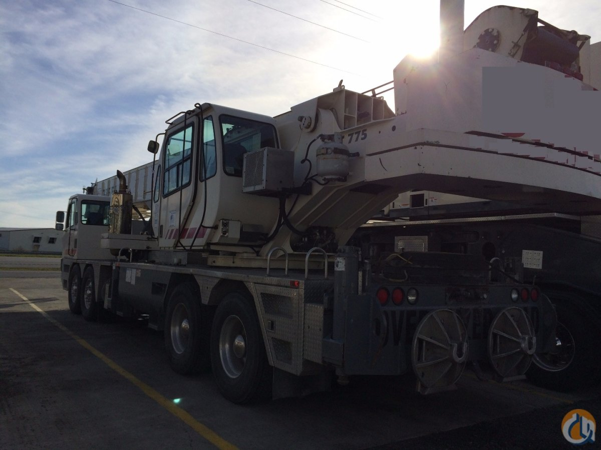 Terex T775 Crane for Sale on CraneNetworkcom