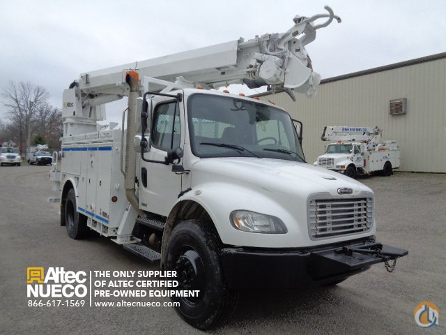 2005 Altec DM45-BC Crane for Sale in Fort Wayne Indiana on CraneNetworkcom