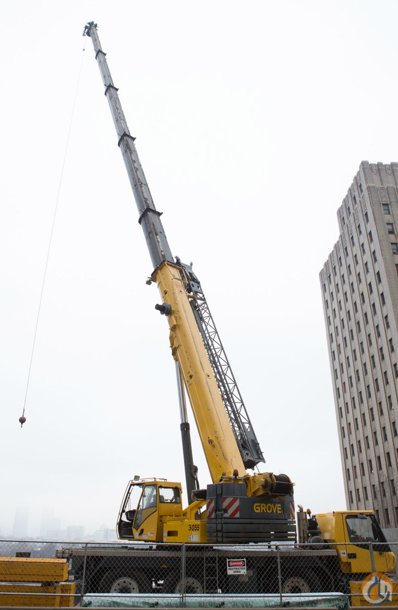 2005 GROVE GMK3055 Crane for Sale in Stamford Connecticut on CraneNetworkcom
