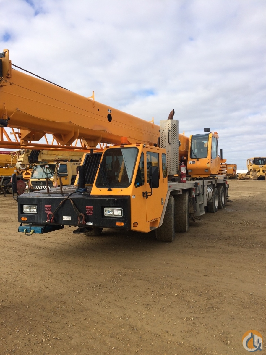 Link-Belt HTC-8675 II Truck Mounted Telescopic Boom Cranes Crane for Sale 2008 Link-Belt HTC-8675 II Hydraulic Truck Crane CBJ796 in  British Columbia  Canada 216211 CraneNetwork