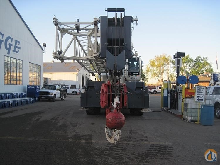 2013 TEREX QUADSTAR 1100 Crane for Sale in San Leandro California on CraneNetwork.com