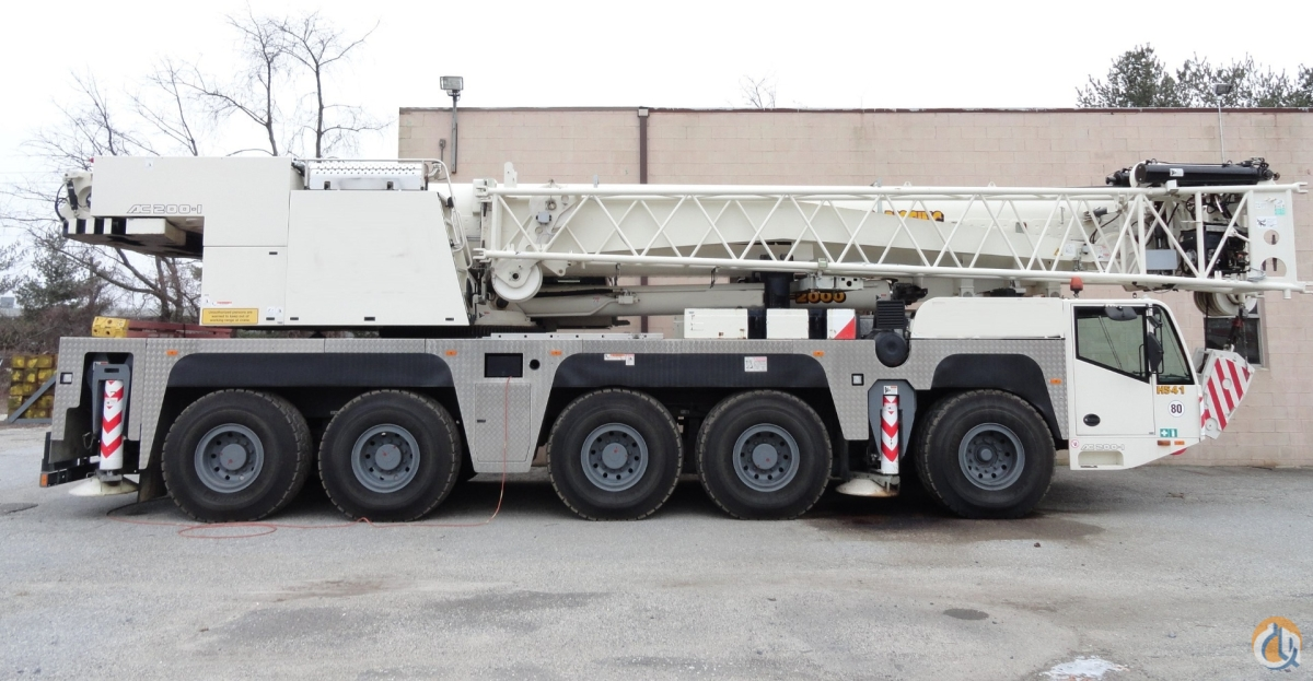 2007 Demag AC200-1 Crane for Sale on CraneNetwork.com