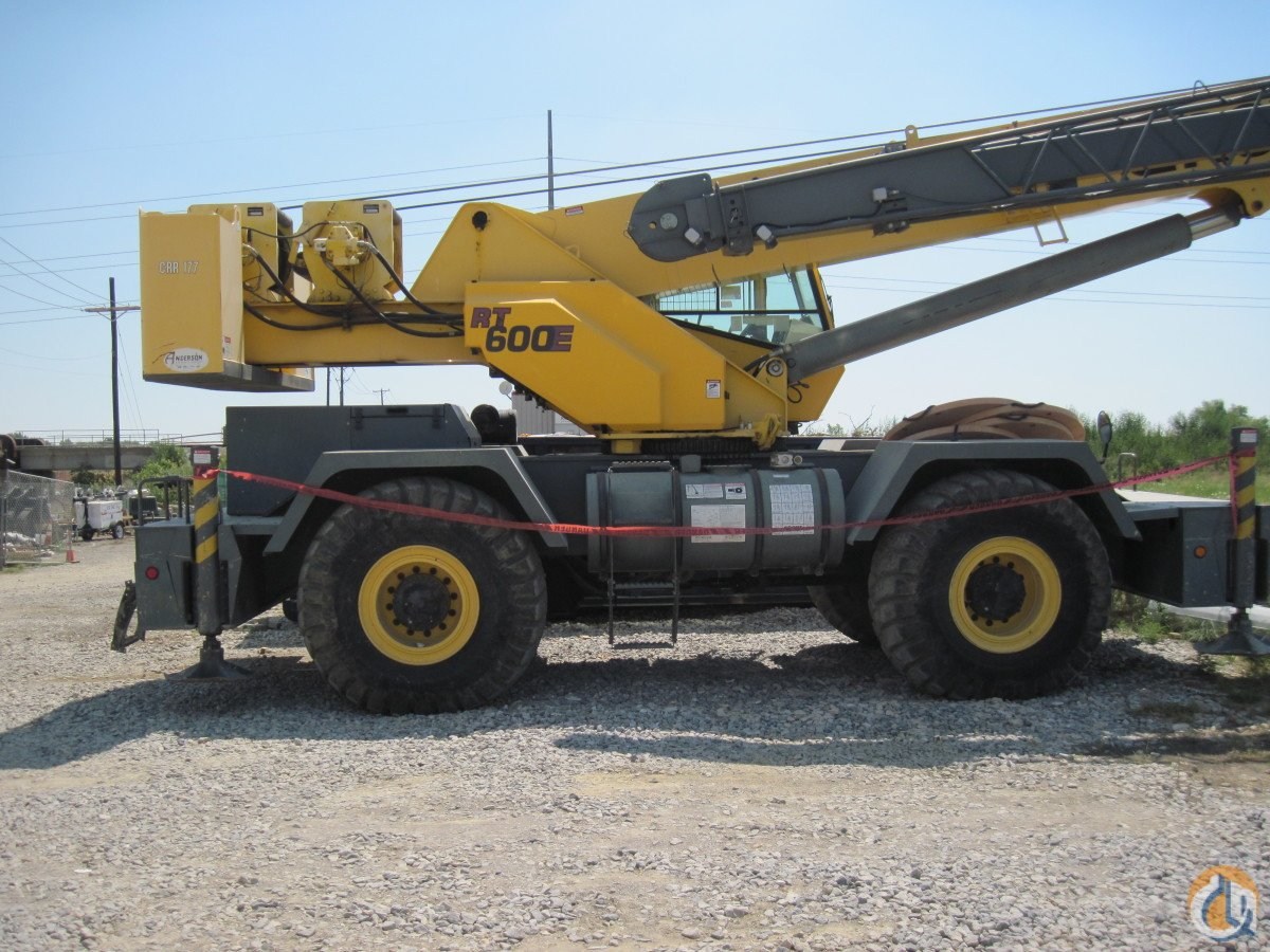 Grove RT600E 50 ton Hydraulic RT Crane for Sale on CraneNetwork.com
