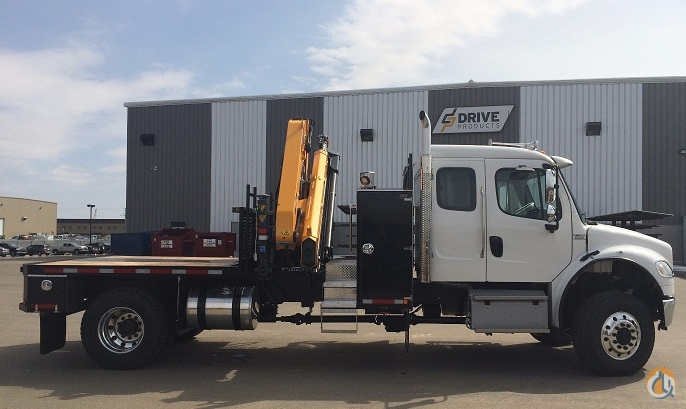 2015 FREIGHTLINER Hotshot Package with 210.5 Copma Crane Crane for Sale in Edmonton Alberta on CraneNetwork.com
