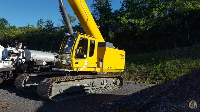 2015 Grove GHC75 Hydraulic Crawler Crane for Sale or Rent in Pittston Pennsylvania on CraneNetwork.com