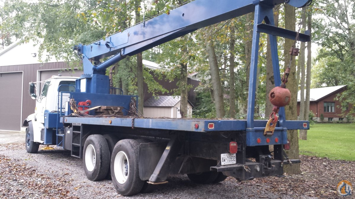 Sold 1998 Ford 17ton Crane for  in Harley Ontario on CraneNetwork.com