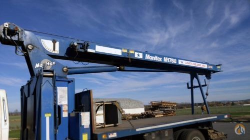 1998 ford f800 manitex 1768 boom truck crane crane for 1998 ford f800 manitex 1768 boom truck crane crane for in harrisburg pennsylvania on