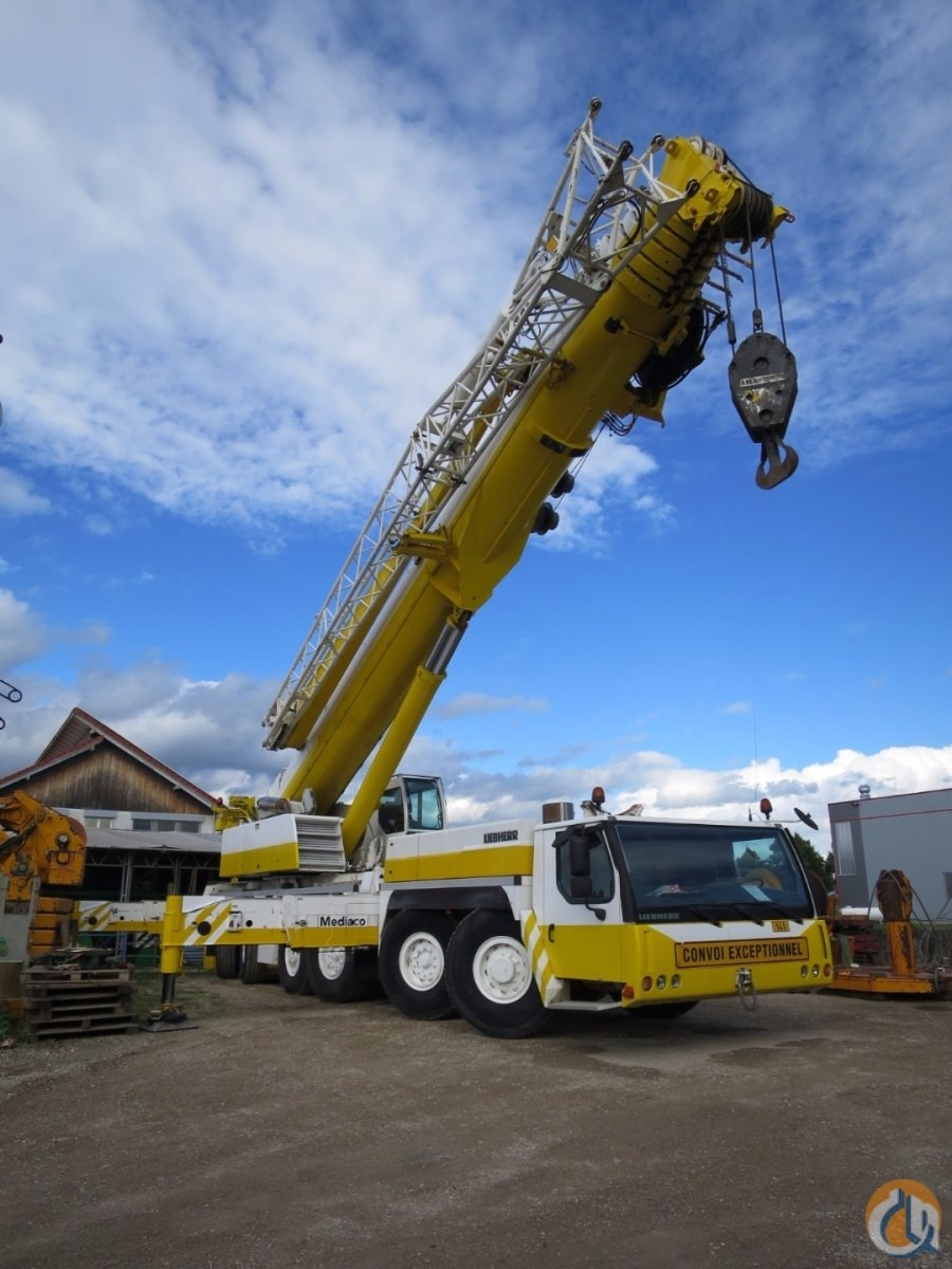 Sold 2006 LIEBHERR LTM 1250-6.1 Crane for  in Kirchheim unter Teck Baden-Wrttemberg on CraneNetwork.com
