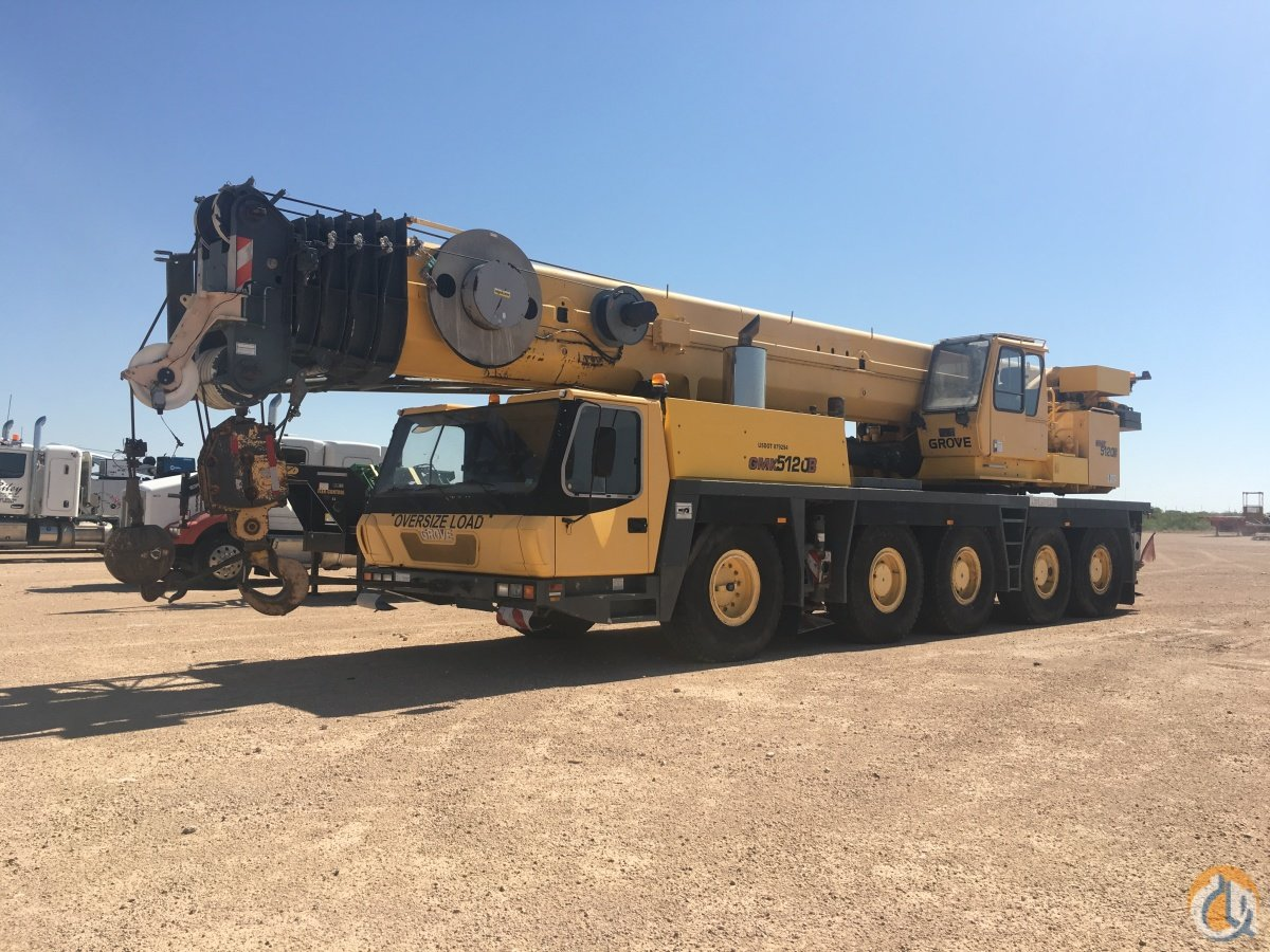 2004 GROVE GMK5120B Crane for Sale in Stanton Texas on CraneNetworkcom