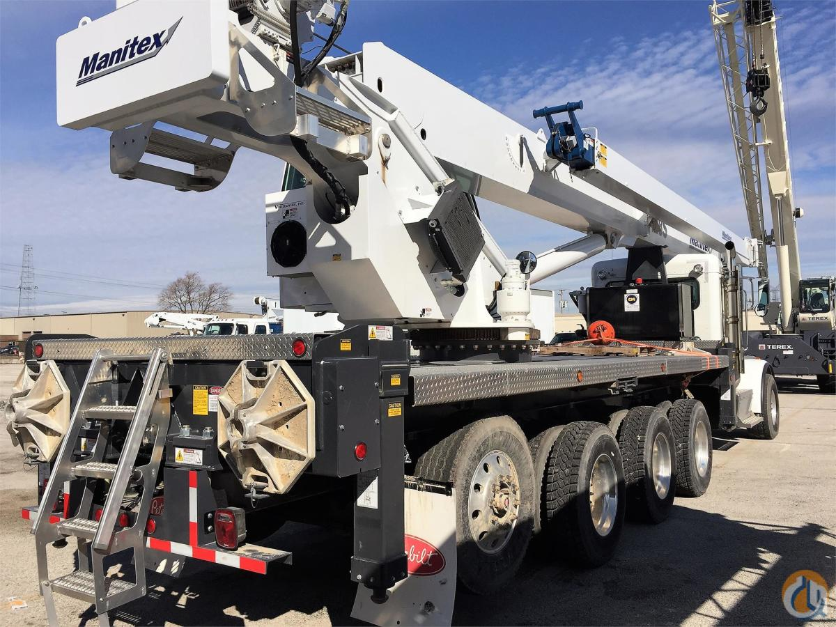 2015 MANITEX 50128S Crane for Sale or Rent in Bridgeview Illinois on CraneNetworkcom