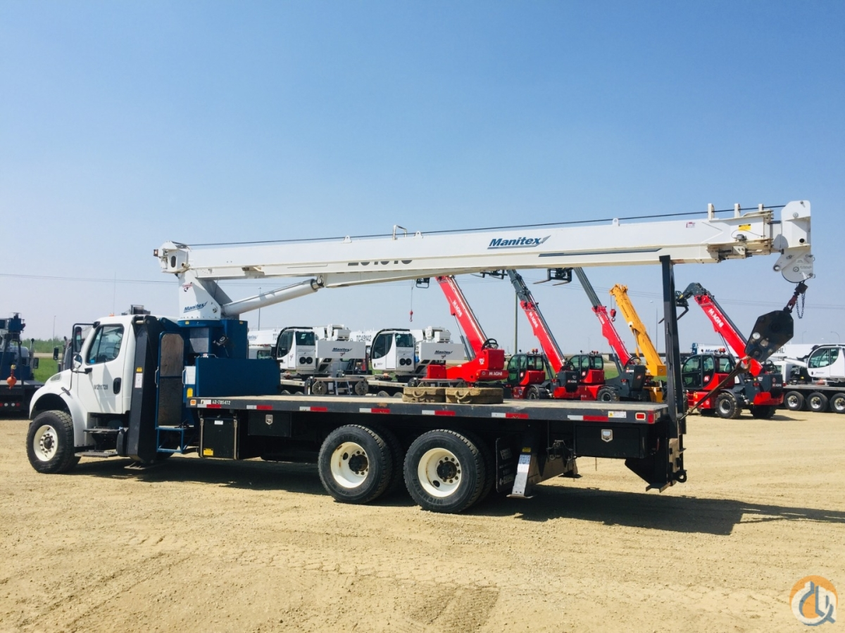 2014 MANITEX 26101C Crane for Sale or Rent in Oakville Ontario on CraneNetwork.com