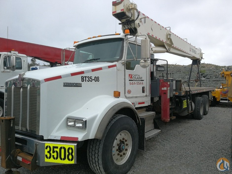 2012 TEREX BT70100 MOUNTED ON A KENWORTH T800 Crane for Sale in Mount Pearl Newfoundland and Labrador on CraneNetwork.com